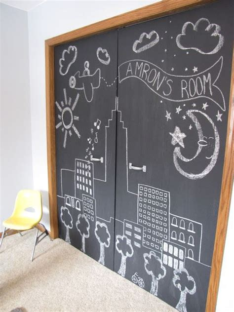 diy chalkboard for playroom wispy house diy chalkboard closet doors this would be