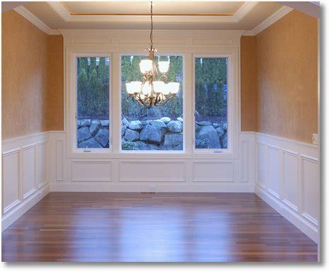 Wainscot Chair Rail by Chair Rails And Wainscoting