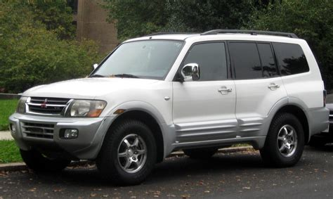 nissan montero mitsubishi montero history of model photo gallery and