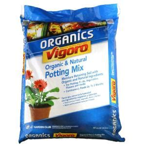 vigoro 69 cu ft organic potting soil pallet of 65 bags