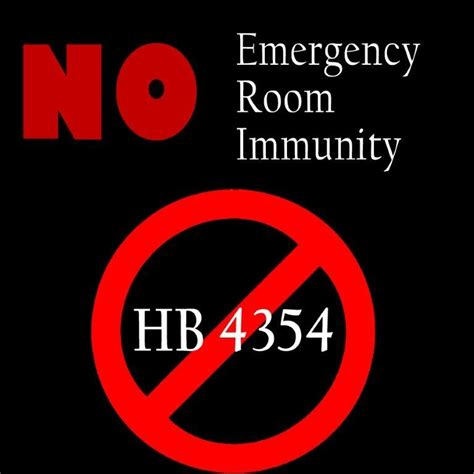 emergency room capitalized just say no to hb 4354 and emergency room immunity lansing examiner lansing michigan