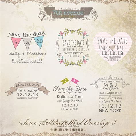 publisher save the date templates write happy ending