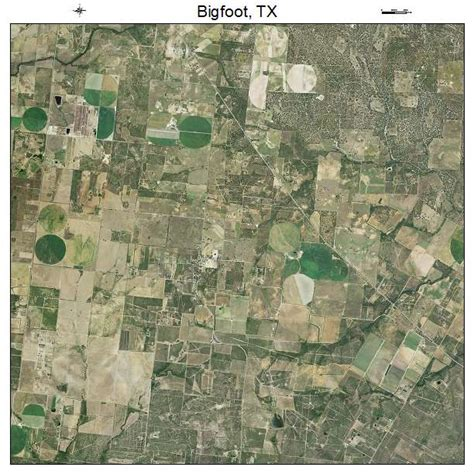 bigfoot texas map aerial photography map of bigfoot tx texas