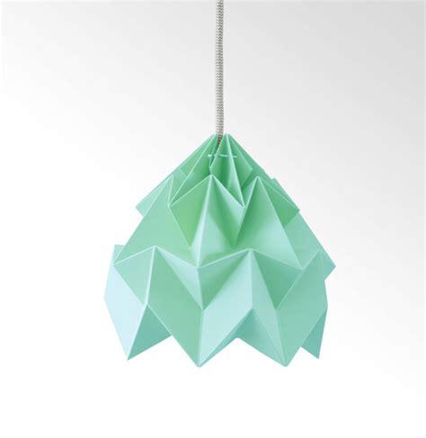 Moth Origami Lshade - moth origami lshade mint