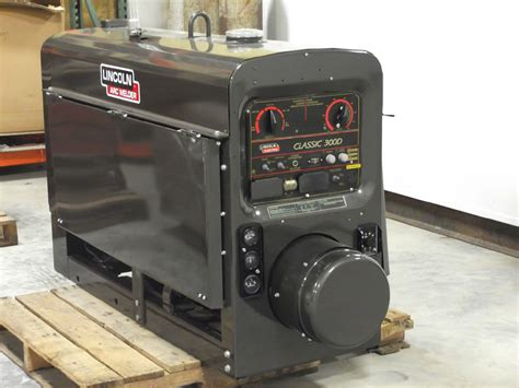 used lincoln welder lincoln welder 300d espotted
