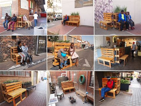 Pallet Furniture Store Mumbai by Artist R1 Recycles Reclaimed Wood Pallets Into