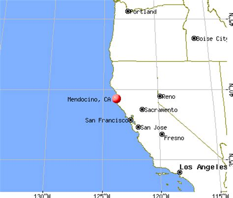 california map mendocino mendocino california ca 95460 profile population maps