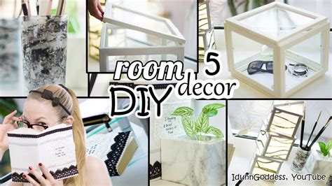 room decor 5 diy room decor and desk organization ideas deco
