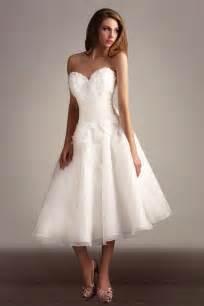 tea length wedding dresses for your new choice