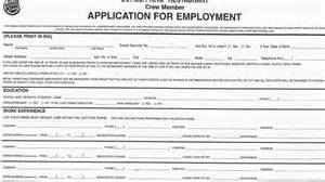 printable job application form job application form 4