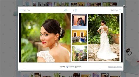 create your own wedding album design how your bridebox wedding album is created