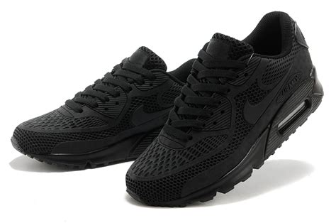 mens all black sneakers 2014 newest nike air max 90 all black mens shoes on sale