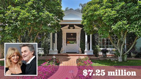 Goldie Hawn And Kurt Russell Put Their Pacific Palisades Home Up For Sale La Times