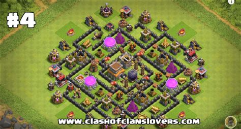 th8 layout after update amazing th8 war trophy farming hybrid bases 2017 layouts