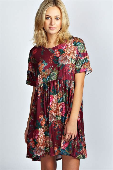 Dress Nsemock toni tapestry smock dress clothes