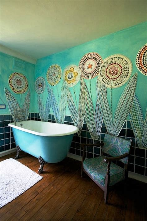 decorations summer wall decor shades of aqua blue using turquoise bathrooms timeless and captivating interior