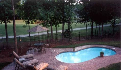 backyard leisure pool and spa backyard leisure pools grand baron fiberglass pool large