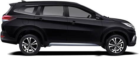 Garnis Depan Hitam Dop Terios new terios 2018 review spesifikasi fitur warna dan harga car goozir