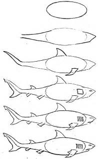 Draw A Drawing Of Simple Fish 10 Step By Step Lessons Part 3
