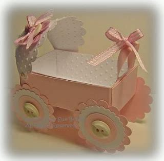 Baby Carriage Card Template by Mel Stz 100 Box Templates Tutorials Gift Card