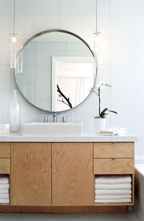8 ideas to use a round mirror in a large living room 25 best ideas about bathroom mirrors on pinterest