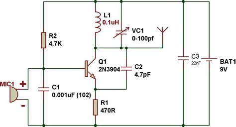 2 transistor fm transmitter circuit transistors simple fm transmitter electrical engineering stack exchange