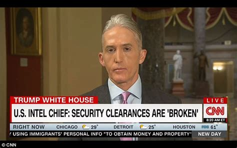 how vain is trey gowdy and dont call it plastic surgery republican trey gowdy wants answers on rob porter daily