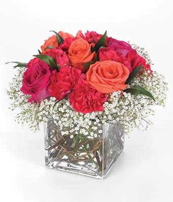 Square Flower Vases by Rich N Rosy At From You Flowers