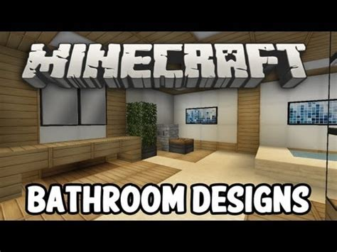 Modern Bathroom Designs Minecraft Minecraft Modern Bathroom Bedroom Designs
