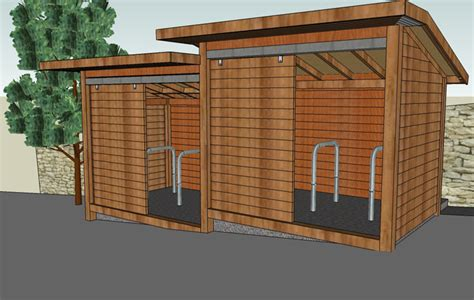 Shed Companys by Community Bike Shelter The Bike Shed Company