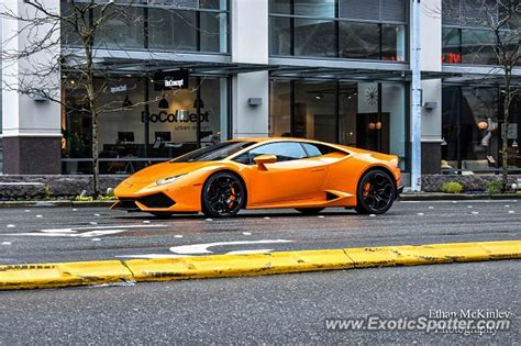 Lamborghini Of Bellevue Lamborghini Huracan Spotted In Bellevue Washington On 04