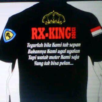 Kaos Keren Cing kaos rx king jaket kulit touring casual wearpack
