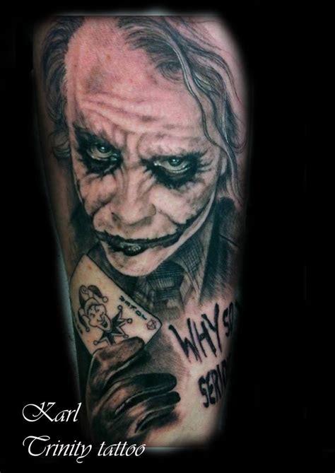 joker tattoo pinterest black and grey joker tattoo 174 tattoo ideas