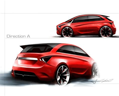 tesla teases with this tasty hatchback concept the fast