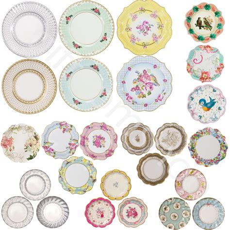 shabby chic tableware shabby chic luxury paper plates vintage style plates