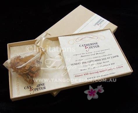 Wedding Invitation Box Kits by Unique Birthday Box Invitation Sle