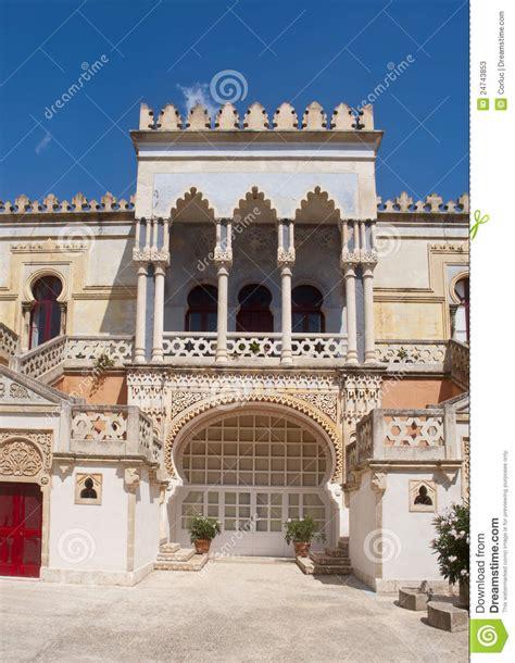 the moorish villa sticchi in moorish mansion