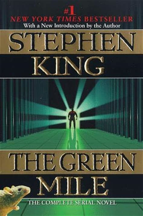 the king a novel books the green mile by stephen king
