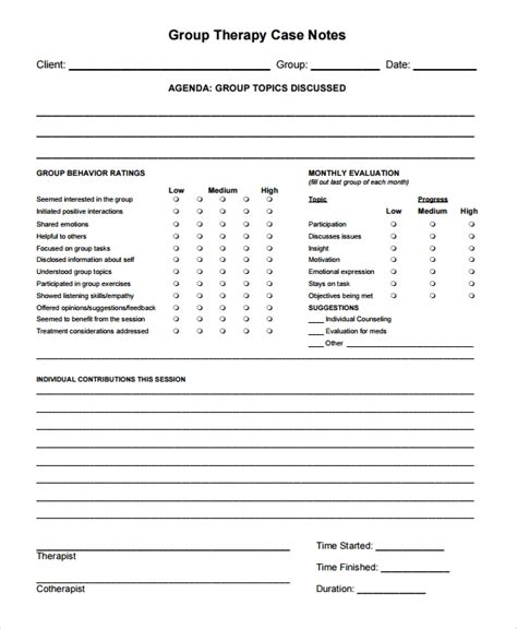 Physical Therapy Documentation Templates Etame Mibawa Co Occupational Therapy Documentation Templates