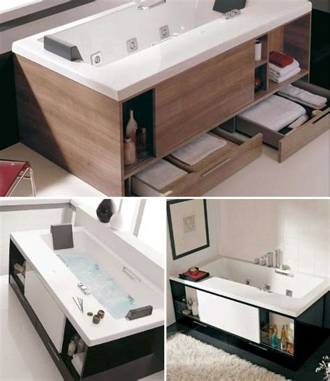 bathtub storage storage tubs for bathrooms with precious little space