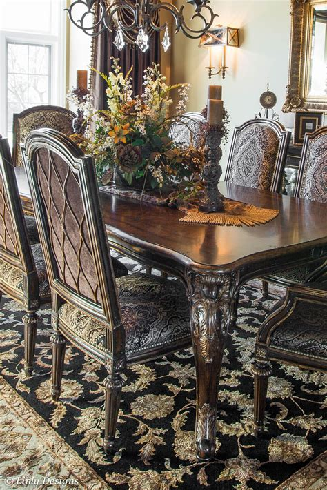 Formal Dining Room Table Centerpieces Dining Table Chairs Med Pinteres