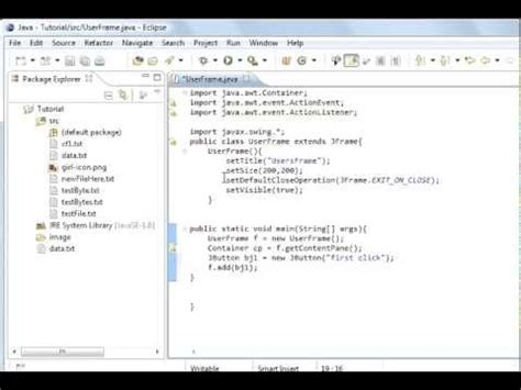 java tutorial java code for search button netbeans mysql java programming part 59 gui adding buttons with