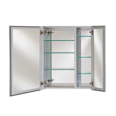 afina broadway 28 quot wall mount mirrored medicine cabinet