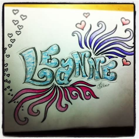 doodle my name my name doodle by leanne deshazo my