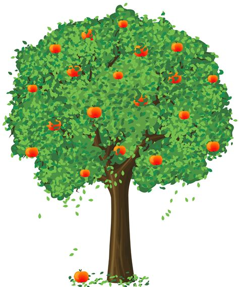 apple tree clipart painted apple tree png clipart clipart best clipart best