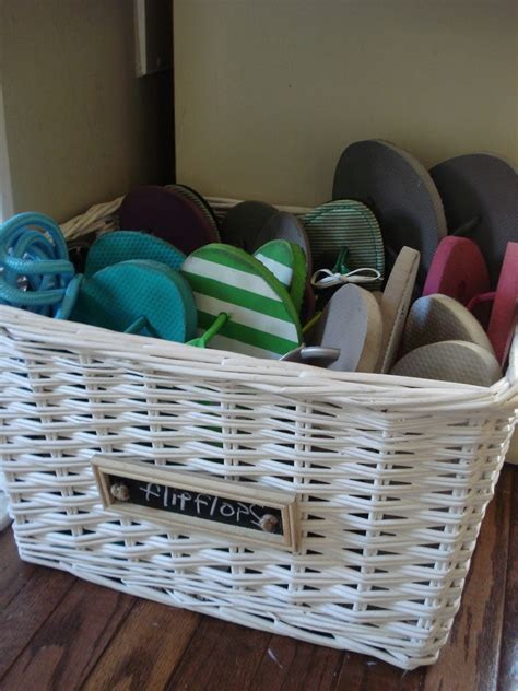 shoe basket storage 15 storage ideas for with way many shoes