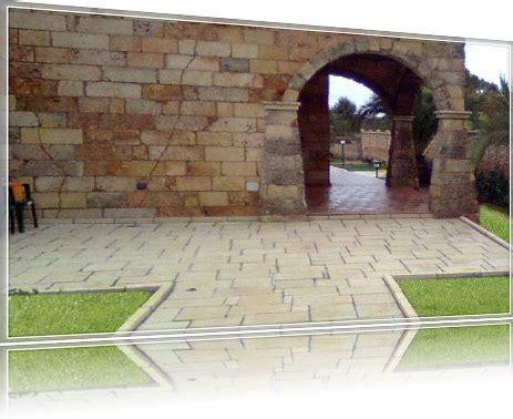 pavimenti in tufo pavimentazione esterna in tufo naturale pavimenti per
