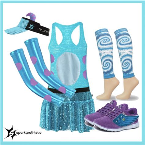 disney running costumes sparkle athletic
