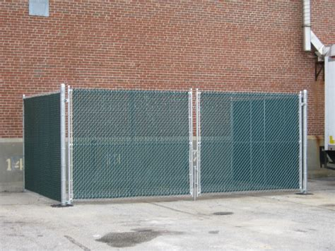 dumpster enclosure main line fence dumpster enclosures design and installation in maine