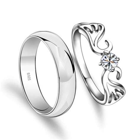 Cincin Kawin Silver Custom 59 117 best images about couples wedding bands on